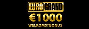 1000 euro welkomstbonus Euro Grand