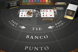 Baccarat bij Kroon Casino