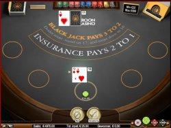 Blackjack bij Kroon Casino